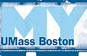My UMass Boston logo