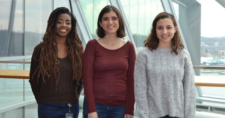 UMass Boston PhD students Sederra Ross, Jessica Karch, and Kirsten Christensen have received NSF Graduate Research Fellowships.
