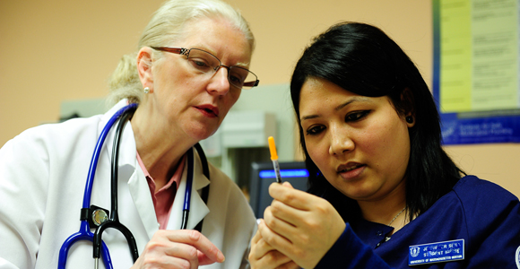 U.S. News ranked UMass Boston's graduate program in nursing No. 41 in the nation