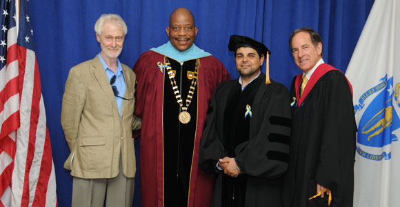 Aari Najmuldeen Mohammed Jabari also took part in the commencement activities on Friday, May 31.