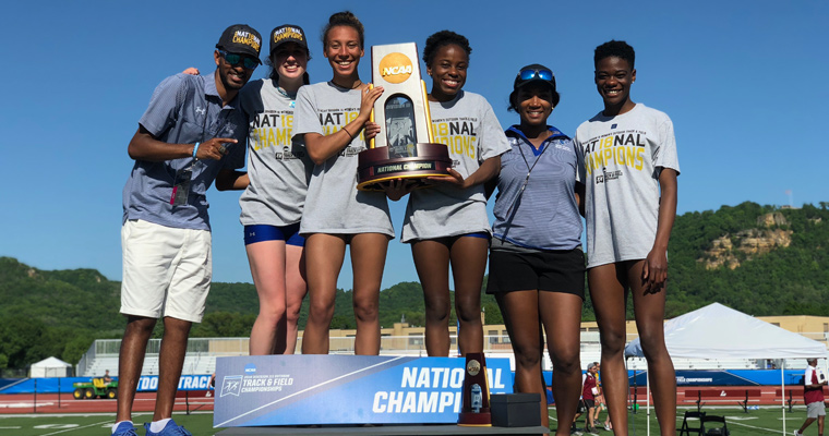 The 2018 outdoor national track and field champions