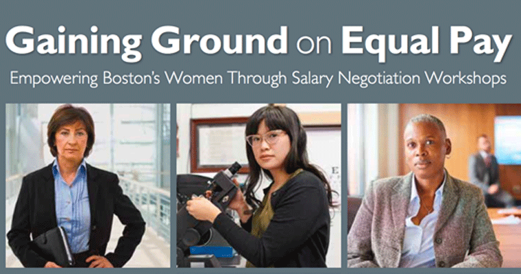 UMass Boston Researchers Release Study on Gender Pay Equity
