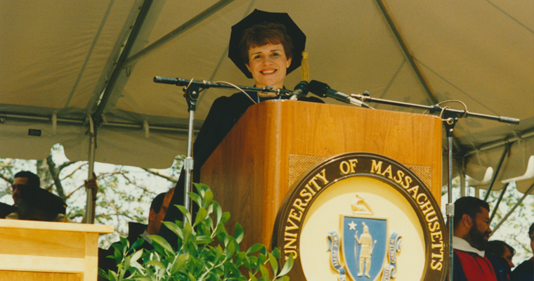Sherry Penney at commencement