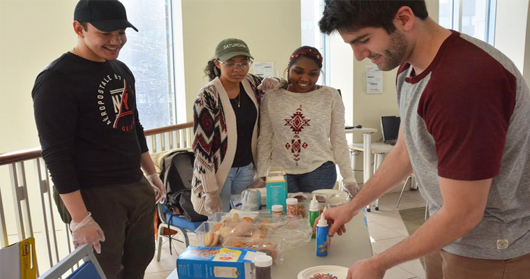 Campus Kitchen at UMass Boston Raises Dough with Cookie Fundraiser