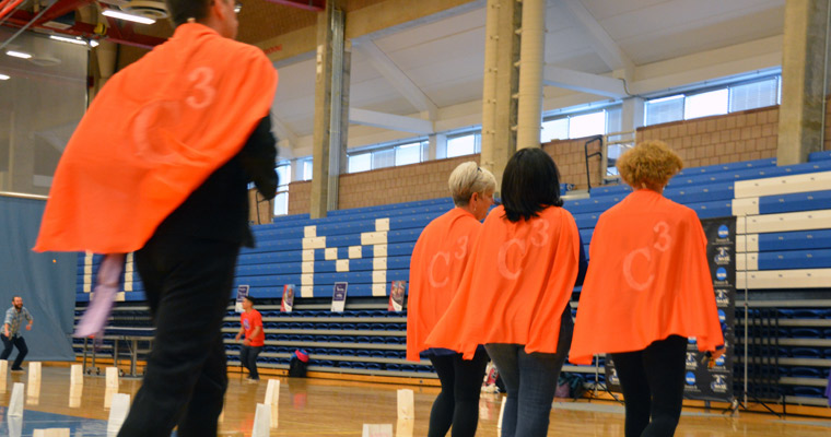 The Campus Center Crusaders team walks for cancer research