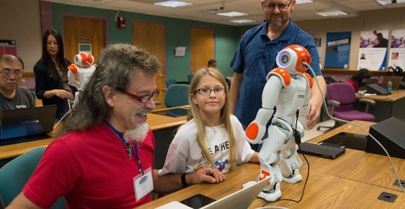 Robots Teach Teachers at BATEC's Summer Institute