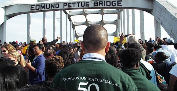 UMass Boston Students Journey to Selma for 50th Anniversary of Bloody Sunday