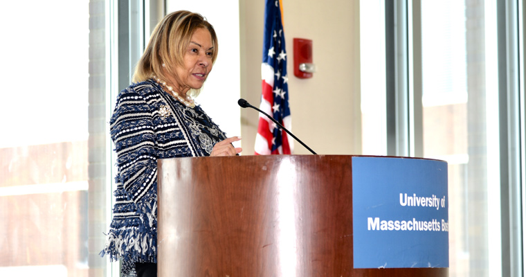 College of Nursing and Health Sciences Dean Linda Thompson