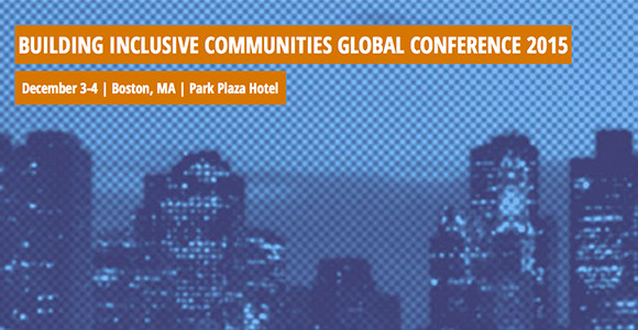 'Building Inclusive Communities' Global Conference at UMass Boston