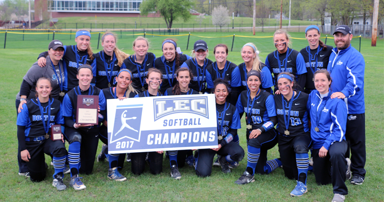 The 2017 UMass Boston softball team won the program's first Little East Conference Tournament title.