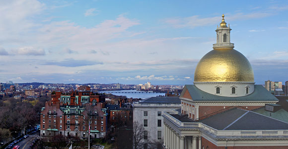 The Massachusetts State House