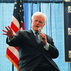Senator Ted Kennedy at UMass Boston