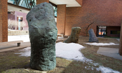"""Gods"" Sculptures to Be Moved Off Campus, Relocated to Spain"