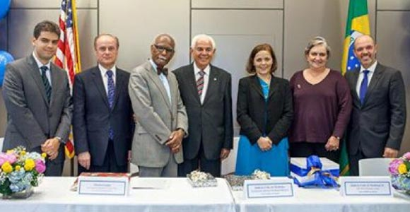 UMass Boston and Brazil's Universidade Tiradentes Launch the Tiradentes Institute at UMass Boston