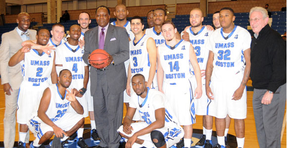 The Beacons overcame a 13-point first-half deficit to help Head Coach Charlie Titus earn win number 300 at the varsity level.