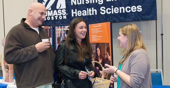UMass Boston Transfer Open House Draws 450 People