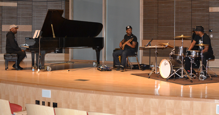 Community Invited to UJazz Trio's Live Album Recording Session in University Hall April 30