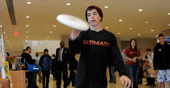 Ultimate Peace engages Middle Eastern youth in Ultimate Frisbee.