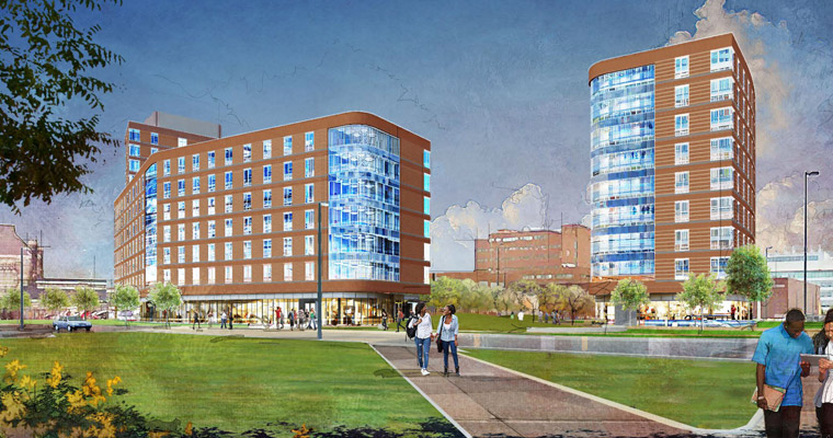 UMass Boston to Break Ground on 1,000-Bed Residence Hall