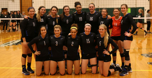 The women's volleyball team earned their sixth Little East Conference regular season title last week.