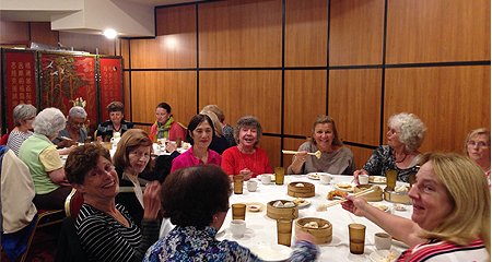 Culinary Adventures Group Participants at the Osher Lifelong Learning Institute at UMass Boston