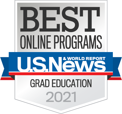 2021 Best Online Graduate Education Programs ranking by U.S. News & World Report
