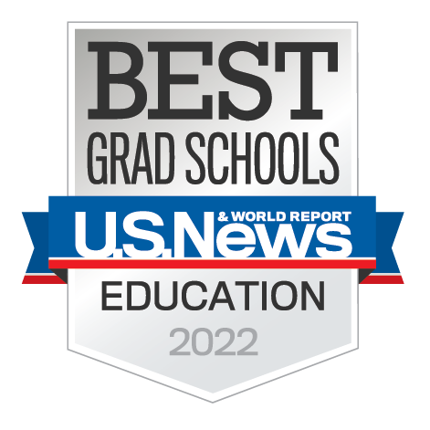 Earned badge for Best Graduate Education Schools by U.S. News & World Report