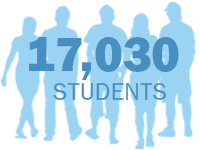 A record 17,030 students at UMass Boston in fall 2015