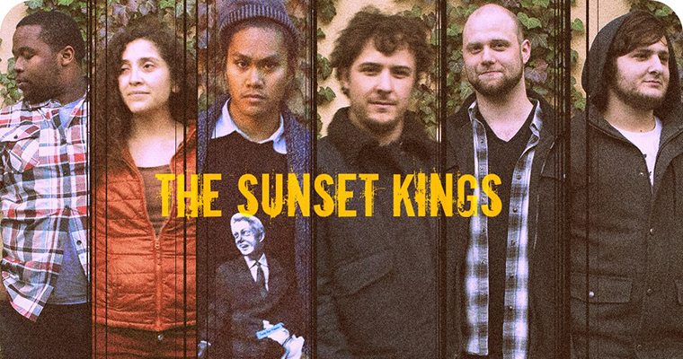 The six performers of the Sunset Kings