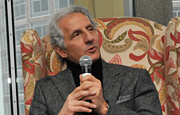 Two-time Menswear Designer of the Year Joseph Abboud, a Roslindale native, speaks about his time as a student at UMass Boston.