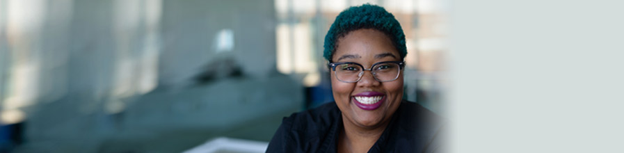 Jasmine Boyd-Perry '16 says UMass Boston made her a global citizen.