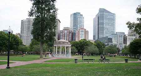 UMass Boston took over the Boston Common on October 7.