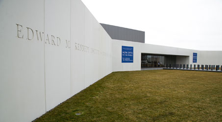 The Edward M. Kennedy Institute for the United States Senate (EMK) opened to the general public on March 31, 2015.