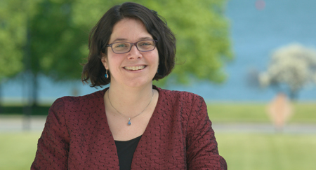 Professor of Psychology Lizabeth Roemer is internationally known for her research on anxiety disorders.