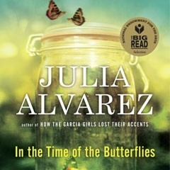 Book cover of Julia Alvarez's book In The Time of The Butterflies.